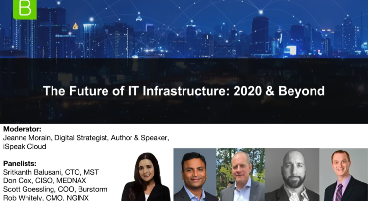The Future of IT Infrastructure: 2020 and Beyond – Burstorm